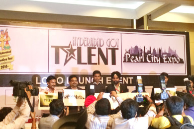 Bodhtree was one of the sponsors for 'Hyderabad has Got Talent' Event