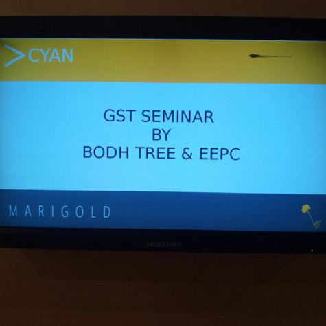 GST Awareness Seminar – In association with EEPC  @ Hotel Mariegold, Hyderabad