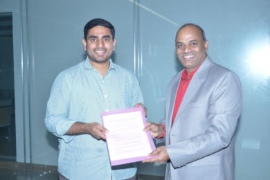 Bodhtree Consulting signs MoU with AP Government in the august presence of Shri. Nara Lokesh, IT and Panchayati Raj & Rural Development Minister, AP