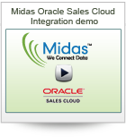Midas Oracle Sales Cloud Integration demo